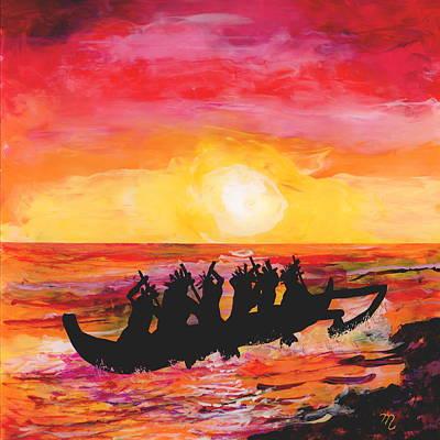 Canoe Ride Poster