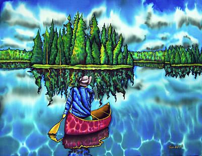 Canoeing Ontario Poster