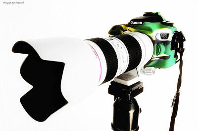 Canon 70d 01 Poster by Kevin Chippindall