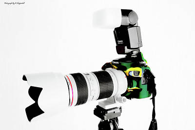 Canon 70d 02 Poster by Kevin Chippindall