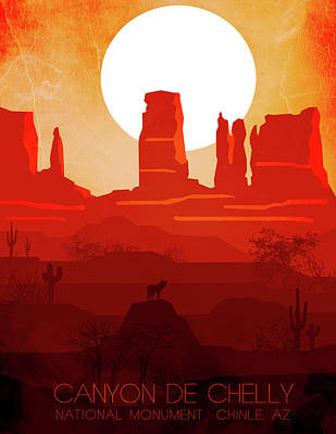 Canyon De Chelly National Monument 2 - By Nostalgic Art  Poster