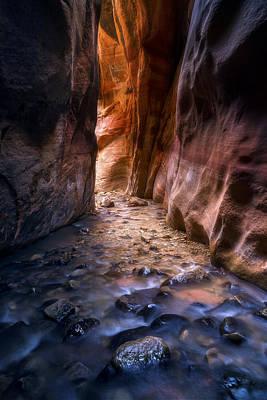 Canyon Glow Poster
