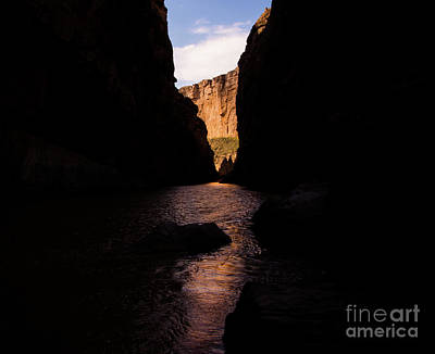 Canyon Light Poster by Rex Wholster
