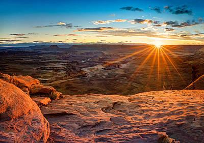 Canyonlands Sunset Poster