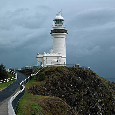 Cape Byron Lighthouse Poster by Odille Esmonde-Morgan