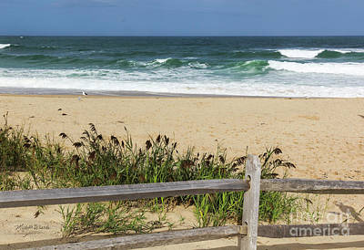 Poster featuring the photograph Cape Cod Bliss by Michelle Wiarda