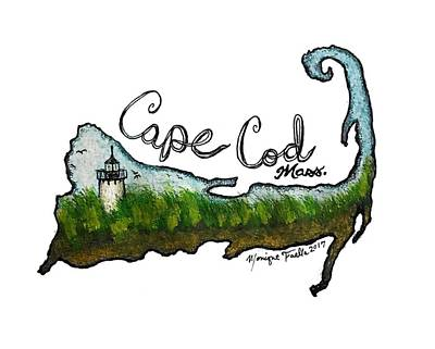 Cape Cod, Mass. Poster
