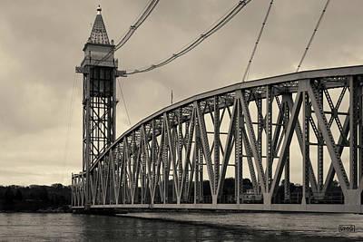 Cape Cod Railroad Bridge I Toned Poster by David Gordon