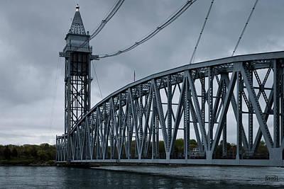 Cape Cod Railroad Bridge No. 1 Poster by David Gordon