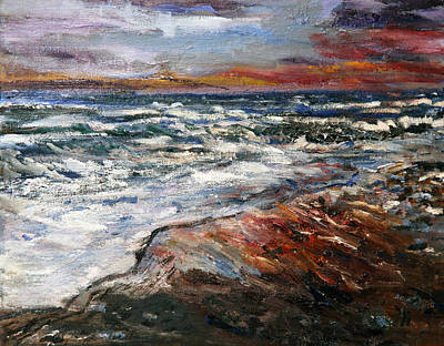 Cape Cod Sunset 1 Poster