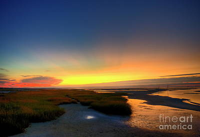 Cape Cod Sunset Poster by John Greim