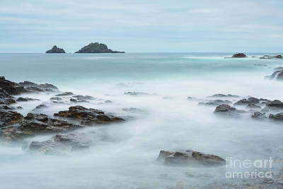 Cape Cornwall - Long Exposure Poster