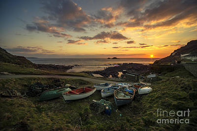 Cape Cornwall Twylight Poster