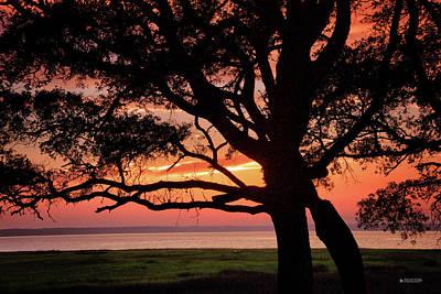 Cape Fear Sunset Overlook Poster