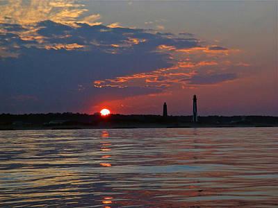 Cape Henry Sunset Poster