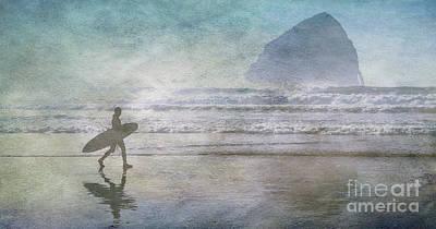 Cape Kiwanda Oregon  Poster by Bob Christopher