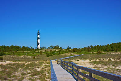 Cape Lookout 2 Poster by Betsy Knapp