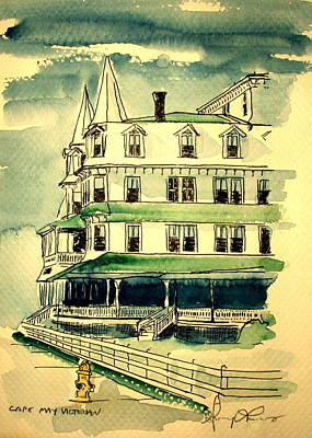 Cape May Victorian Poster