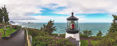 Poster featuring the photograph Cape Meares Bright by Darren White