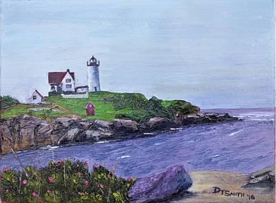 Cape Neddick Lighthouse Poster by Daniel Smith