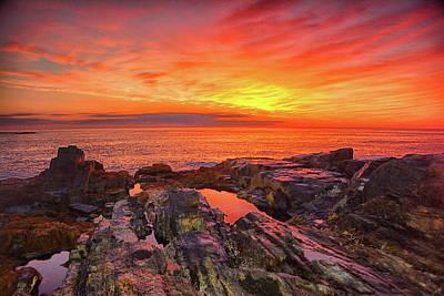 Cape Neddick Sunrise Poster