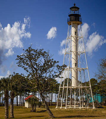Cape San Blas Lighthouse Poster