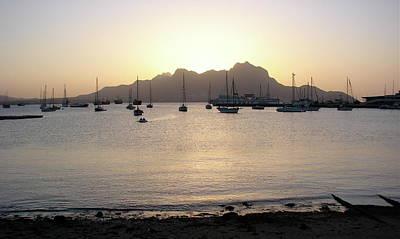 Cape Verde Sunset Poster