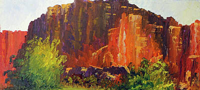 Capitol Reef Morning Poster