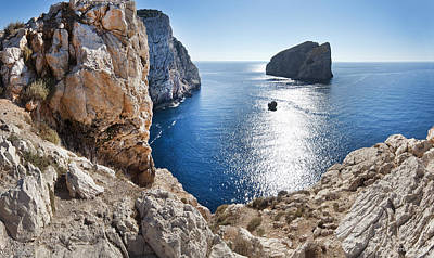 Capo Caccia Poster by Robert Lacy