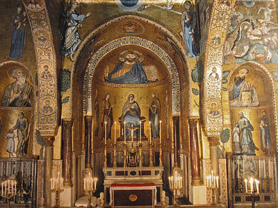 Cappella Palatina Poster