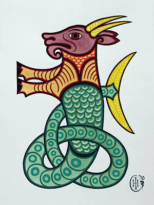 Capricorn Poster by Ian Herriott