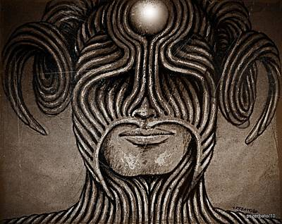 Capricornus Poster by Paulo Zerbato