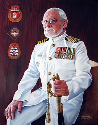 Capt John Lamont Poster