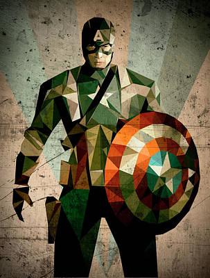 Captain A Poster