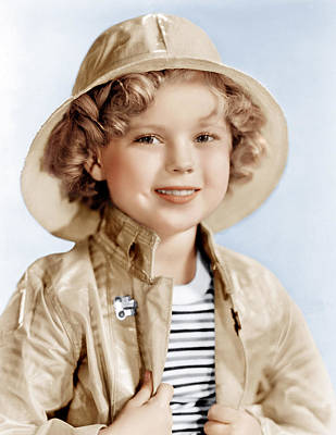 Captain January, Shirley Temple, 1936 Poster by Everett
