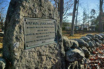 Captain John Locke Monument  Poster