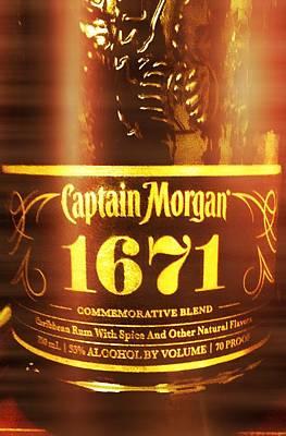 Captain Morgan 1671 Poster by Mandin Goncalves