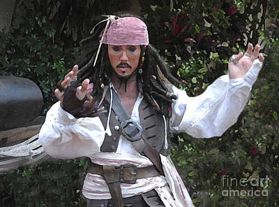 Captain Sparrow Poster