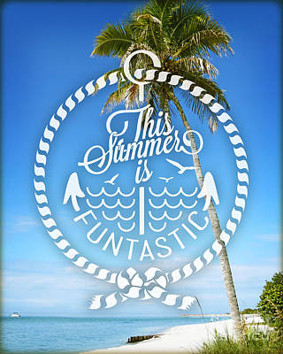 Captiva Day Poster by Chris Andruskiewicz