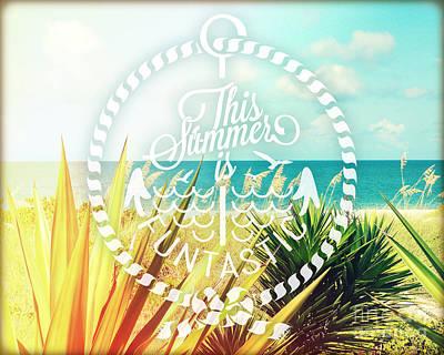 Captiva Island I Poster by Chris Andruskiewicz