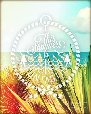 Captiva Island II Poster by Chris Andruskiewicz