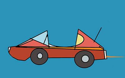 Car 1 Poster by Denny Casto