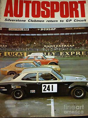 Car Magazine Poster