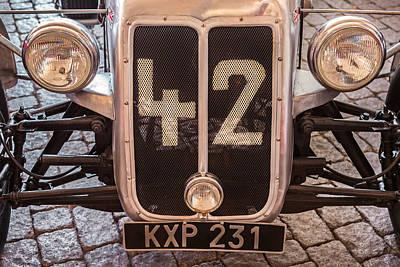 Car Number 42 Poster