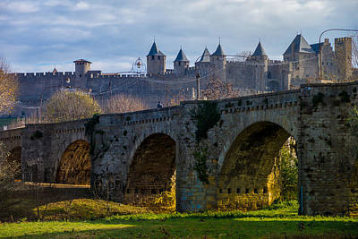 Carcassonne Poster by Elly De vries