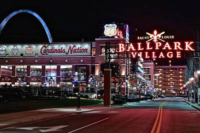 Cardinal Nation Poster by Frozen in Time Fine Art Photography