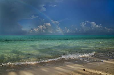 Caribbean Breeze Poster by Betsy Knapp