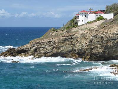Caribbean Coastal Villa Poster