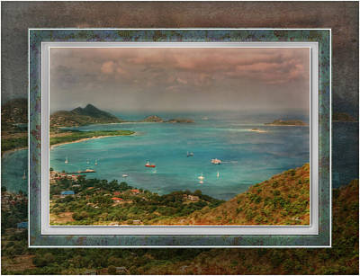 Poster featuring the digital art Caribbean Symphony by Hanny Heim