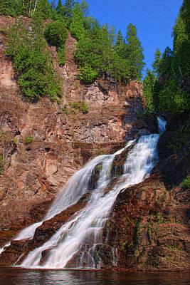 Caribou Falls Poster